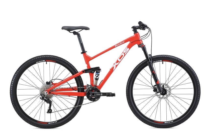 אופני הרים שיכוך מלא