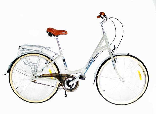 אופני עיר טורפדו בעיצוב רטרו מדליק סינגל ספיד RAINBOW 1LA