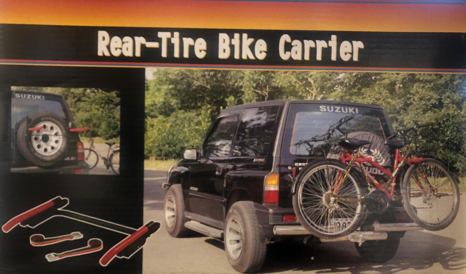 מנשא אופניים לגיפ על גלגל אחורי