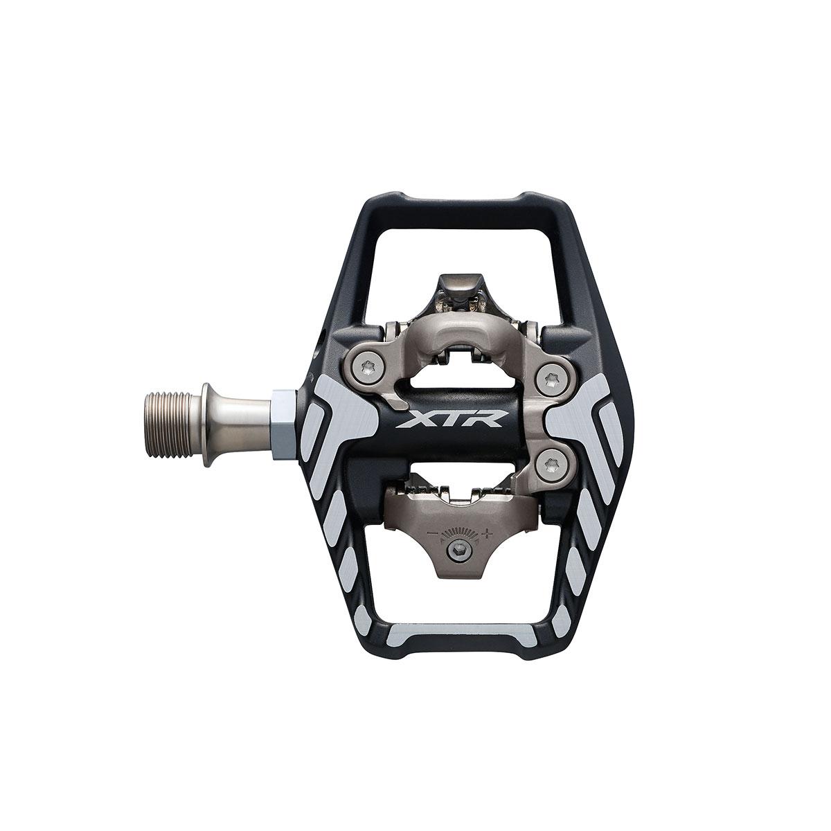 פדלים Shimano (9120) XTR SPD Pedal W/ Reflector W/ Cleat SMSH51