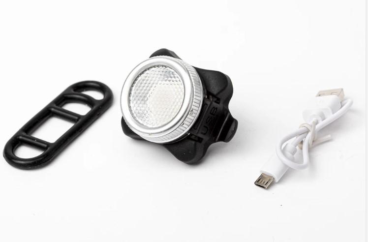פנס לד קדמי עוצמתי - נטען USB