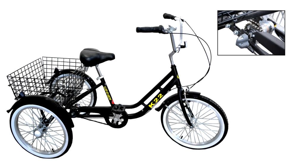 אופני תלת אופן למבוגרים