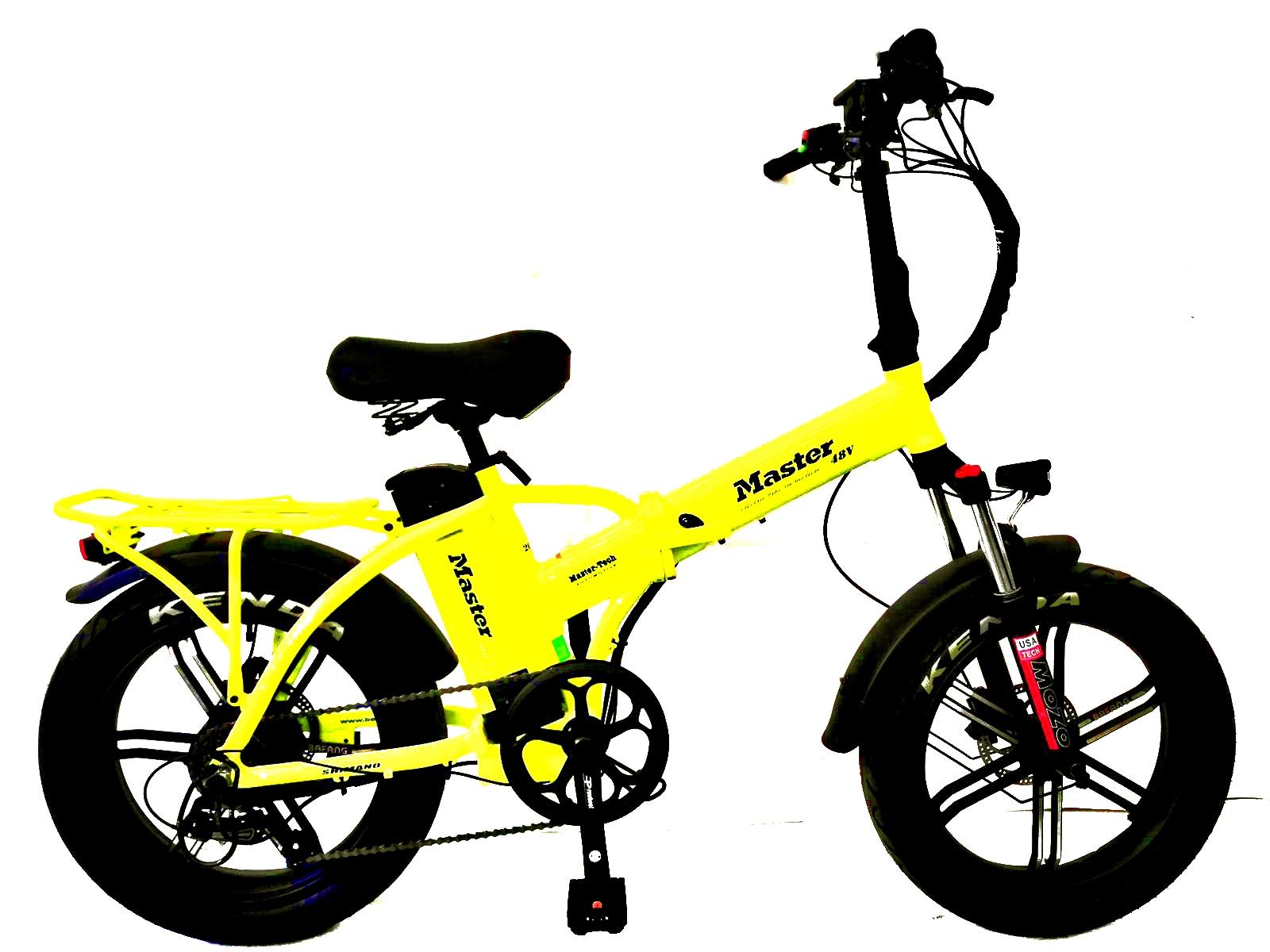 אופניים חשמליים פאט בייק 48 וולט מגנזיום Master MAG