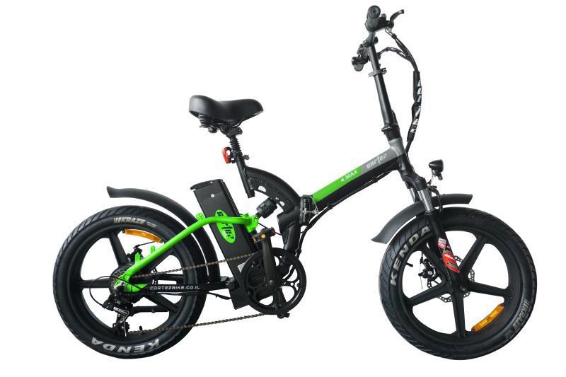 אופניים חשמליים קורטז שיכוך מלא 48 וולט, 13 אמפר Cortez 4MAX