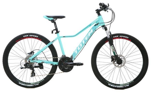 אופני הרים זנב קשיח אשה תכלת TOTEM Y680 26
