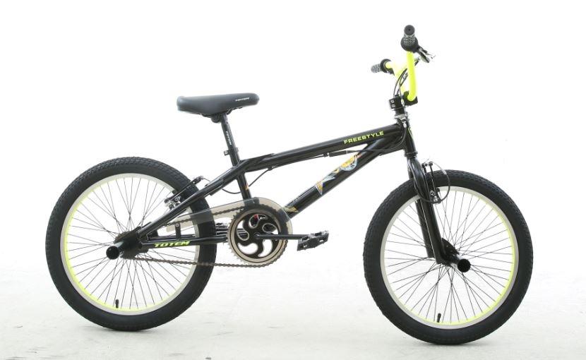 אופני פעלולים 20X10 שחור/צהוב TOTEM