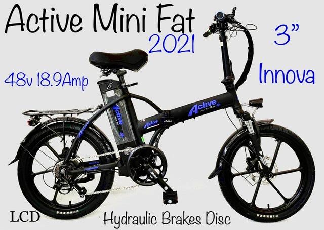 אופניים חשמליים אקטיב 48W 18.9A
