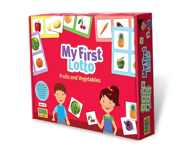 My First Lotto Fruits and Vegetables