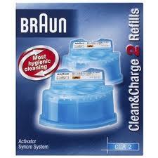 נוזל ניקוי למכונת גילוח BRAUN  דגם CCR2