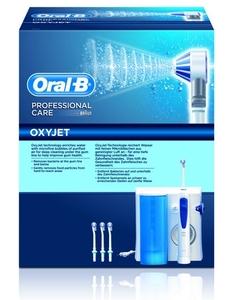 מערכת ניקוי פה ORAL-B דגם OXYJET MD20