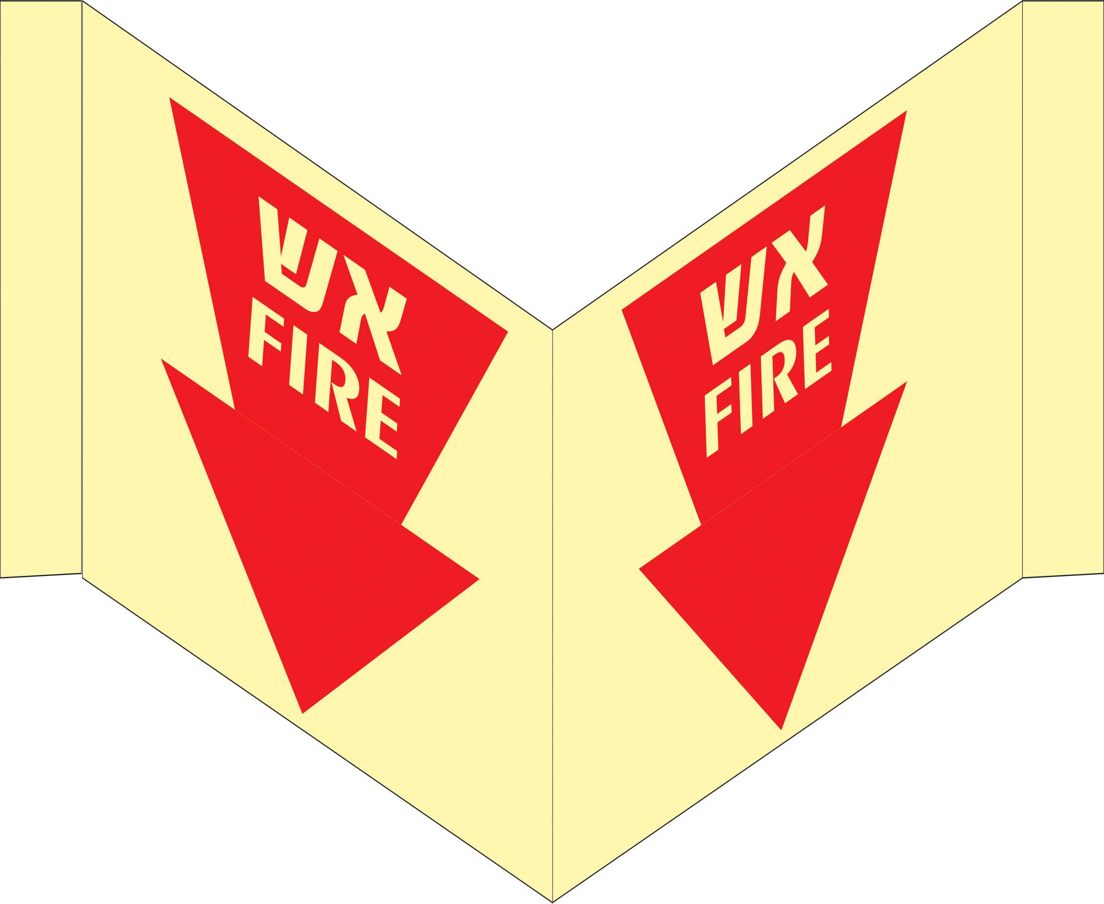 שלט פנורמי פולט אור 7153 אש פאייר 18/40 ס