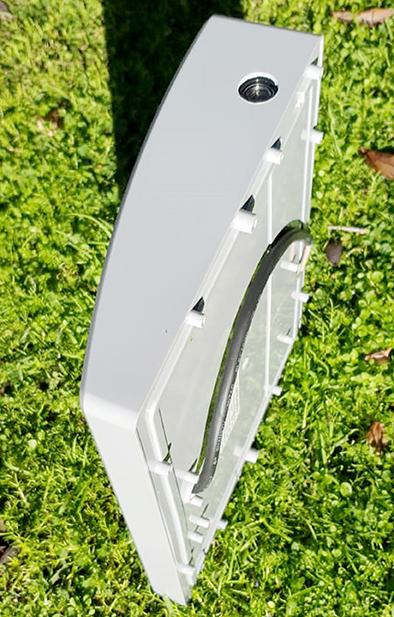 נאור לד פוטוצל מסגרת בצבע אפור - LED N5