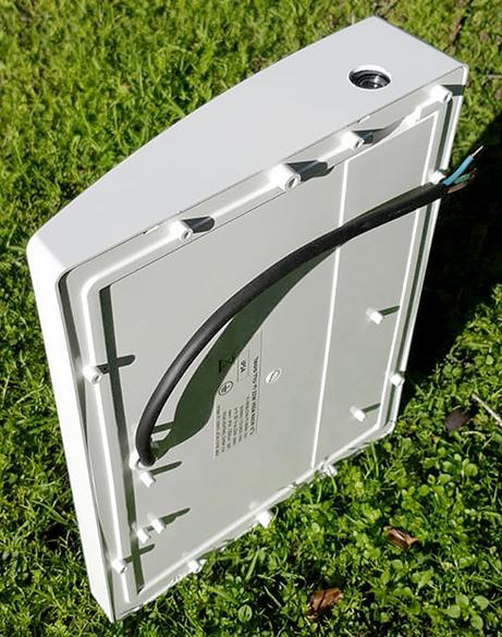 נאור לד פוטוצל מסגרת בצבע לבנה - LED N5