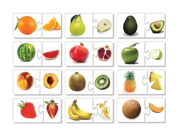 שילובים מגנטיים - פירות