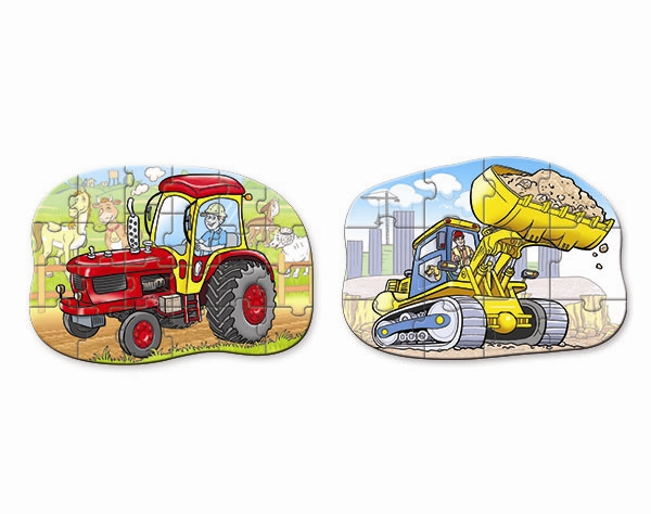 Tractor and Bulldozer