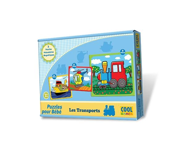 Puzzles pour Bébé - Les Transports