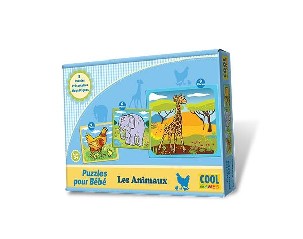 Puzzles pour Bébé -  Les Animaux