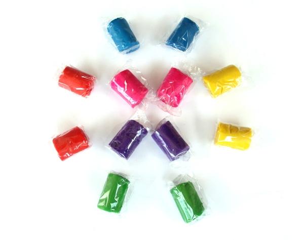 En Vrac Multicolore de 2 Litres dans un Récipient Transparent Réutilisable