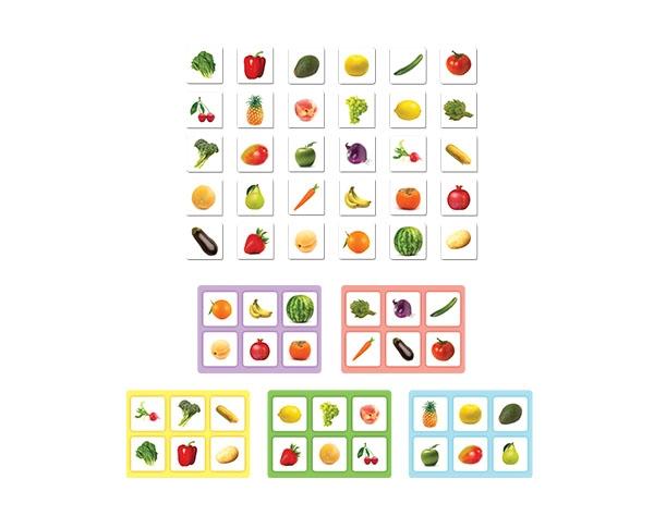Mi Primera Lotería Frutas y Verduras