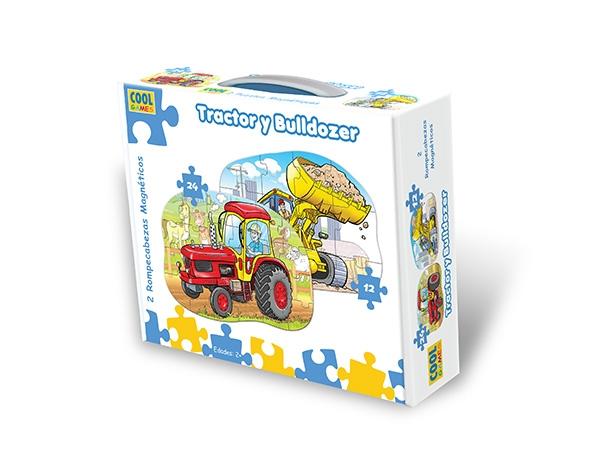 Tractor y Bulldozer