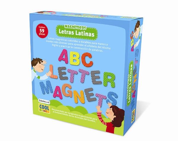 Letras Magnéticas Latinas