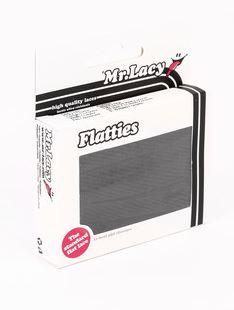 Flatties Black 130- זוג שרוכים שטוחים בצבע שחור 130 סמ