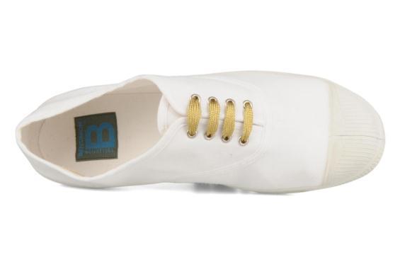 Smallies Gold- זוג שרוכים קצרים בצבע זהב