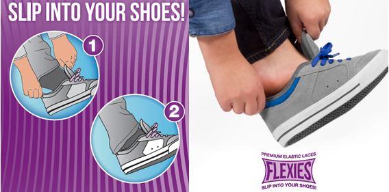 90 Flexies Dark Grey - זוג שרוכים אלסטיים בצבע אפור כהה