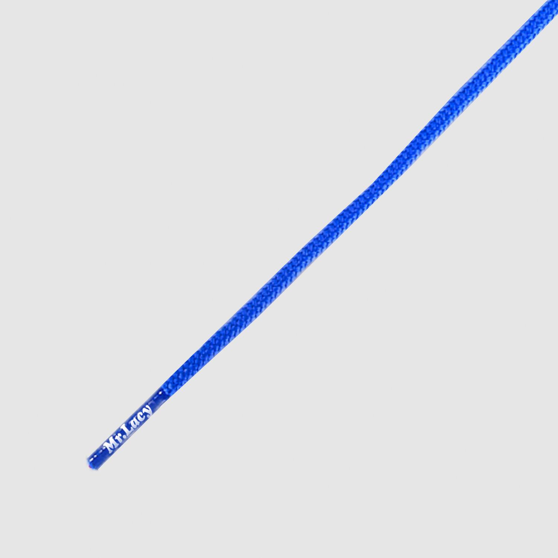 Runnies Round Royal Blue - זוג שרוכים עגולים דקים כחול רויאל