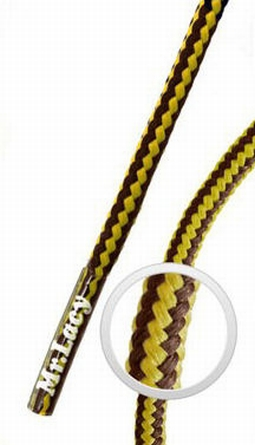 Hillies Gold/Brown - זוג שרוכים לנעלי שטח בצבע חום זהב