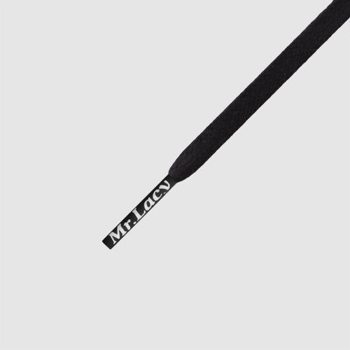 Waxies Black- זוג שרוכים עם ציפוי שעווה בצבע שחור