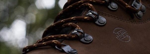 120 Hikies Round Dark Brown/Light Brown- זוג שרוכים עגולים בצבע חום כהה עם חום בהיר