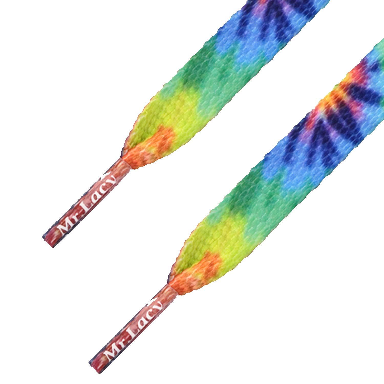 Printies Tie Dye - זוג שרוכים עם ההדפס בצבעי קיץ