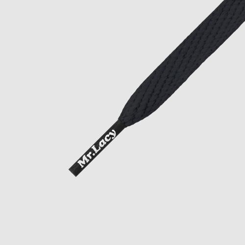 Smallies Black- זוג שרוכים קצרים בצבע שחור