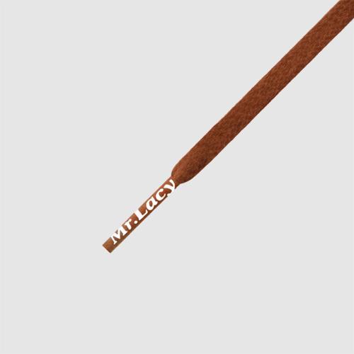 Waxies Brown- זוג שרוכים עם ציפוי שעווה בצבע חום