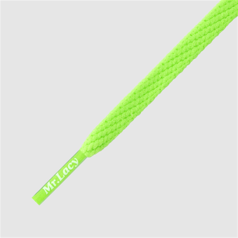 Skinnies Neon Green- זוג שרוכים צרים בצבע ירוק ניאון