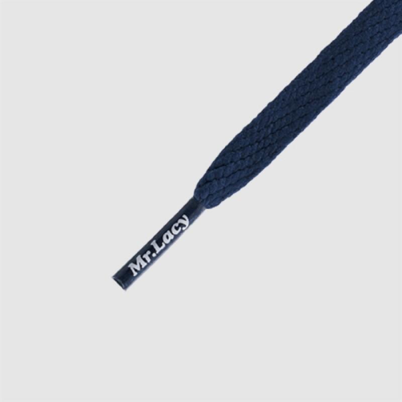 Smallies Navy - זוג שרוכים קצרים בצבע כחול נייבי