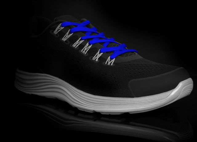 Runnies Hydrophobic Royal Blue-זוג שרוכים לריצה בצבע כחול עם ציפוי הידרופובי