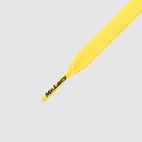 Smallies Yellow- זוג שרוכים קצרים בצבע צהוב