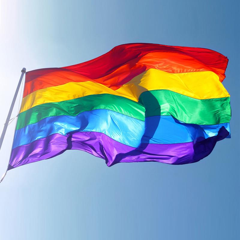דגל גאווה עם סלוגן אישי