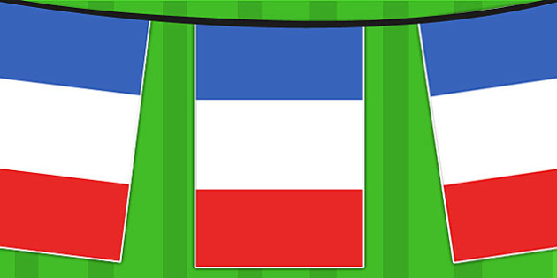 20mètres du drapeau de la France