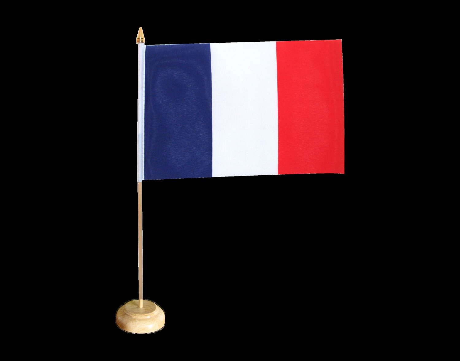 Drapeau de la France à la table 21*15 Élégant