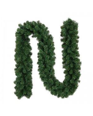 ענף אשוח ירוק/לבן