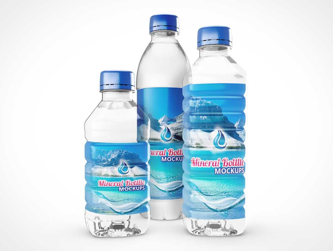 הדפסה על בקבוק מים מינרליים חד פעמי
