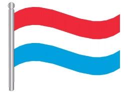 דגל לוקסמבורג - Luxembourg flag