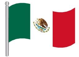 דגל מקסיקו - Mexico flag