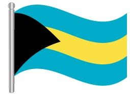 דגל איי בהאמה - Bahamas flag