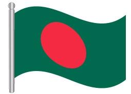 דגל בנגלדש - Bangladesh flag