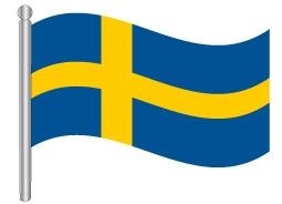 דגל שבדיה - Sweden flag