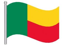 דגל בנין - Benin flag